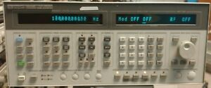 Hp Agilent Keysight 8644b Synthesized Signal Generator Opt 002 003 26 2060mhz