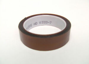 3m 1205 1 X 36 Yd Polyimide Film Electrical Tape Amber