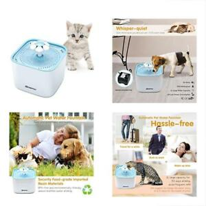 Fountains Pet Cat Water Dispenser Healthy And Hygienic Drinking 2l Super Quiet