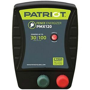 Patriot Pmx120 Electric Fence Energizer 1 2 Joule