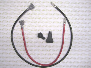 1964 1975 Buick Battery Cable Kit Battery Cables Battery Covers