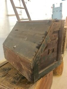 Large Antique National Cash Register 1929 Shipping Crate With Original Label