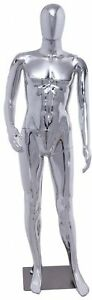 Giantex Male Mannequin Stand Dress Form Full Body Durable Plastic Display W base