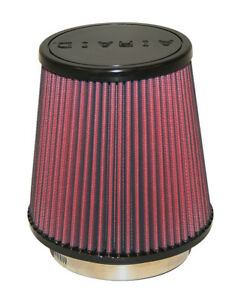 Airaid 701 453 Performance Washable Cold Air Intake Filter 4 Inlet 6 Tall Cone