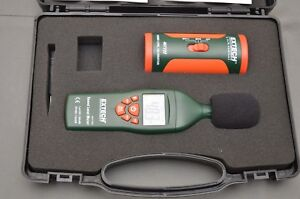Extech 407732 407722 Digital Sound Level Meter Kit Decibel