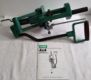 RCBS 4x4 Progressive Reloading Press wOperating-Parts ManualVGC