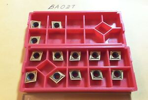 Circle Cpgt 3201 cg5 Carbide Inserts 13 Pcs