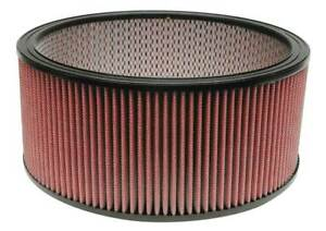 Airaid 801 374 Washable Performance High Flow 14 Round Air Filter 6 Height