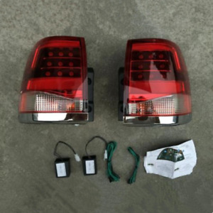 Rear Lamp Led Taillights Upgrade Replace Kit For Toyota Land Cruiser Lc200 08 15