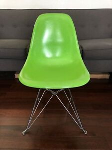 Modernica X Huf Case Study Side Shell Eiffel Chair Chrome Base Eames 2014 27