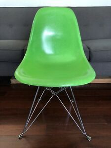 Modernica X Huf Case Study Side Shell Eiffel Chair Chrome Base Eames 2014 26