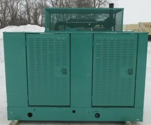 65 Kw Onan Ford Natural Gas Or Propane Generator Genset Load Bank Tested