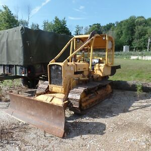 2003 John Deere 700h Xlt Dozer With Cab Heat A c New Bottom Good Shape