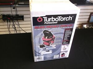 Turbotorch Professional Deluxe Portable Torch Kit 0386 1397