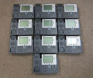 Lot Of 10 Cisco Ip Phone 7940 Series Cp 7940g