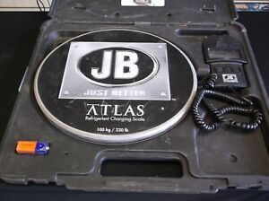 Jb just Better Atlas Refrigerant Charging Scale