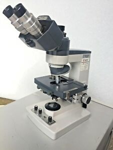 Ao Scientific Instruments One ten Compound Microscope Objectives 6 5x 20x 40x