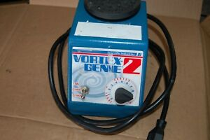 Si Genie 2 Vortexer Vortex Shaker Mixer Used Lab Rotator Mini Touch Scientific