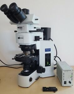 Olympus Microscope Bx51 Pol Bf df fully Serviced