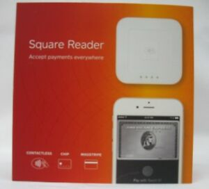 Square Reader Contactless Chip Magstripe Reader white New Free Shipping