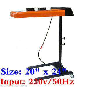 Us 20 X 24 Screen Printing Infrared Flash Dryer Two Fan Temperature Controller
