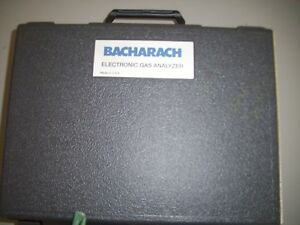 Bacharach Oxor Ll Electronic Gas Analyzer Sensor And Probe Assembly