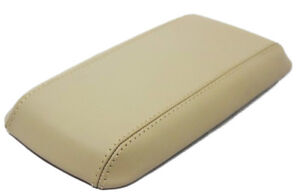 Synthetic Leather Beige Console Lid Armrest Cover Fits 05 09 Chevrolet Equinox