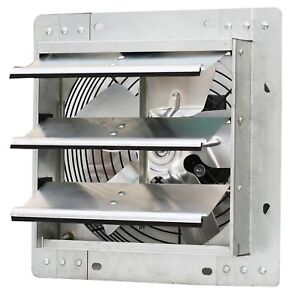 Iliving Ilg8sf10v Wall mounted Variable Speed Shutter Exhaust Fan 10