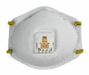3m Particulate Respirator 8511 N95 pack Of 80