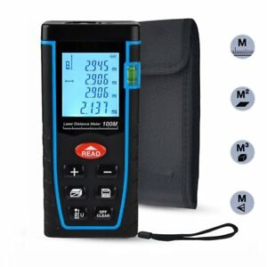 Laser Distance Measure Iegeek 328ft Handheld M in ft Laser Distance Meter