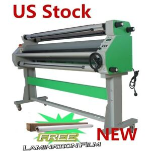 Us 110v 67 Economical Full auto Low Temp Wide Cold Laminator Cutting Function