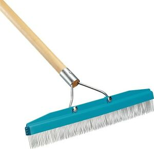 Carlisle 4575100 Commercial Grade 18 Carpet Rake Groomer New