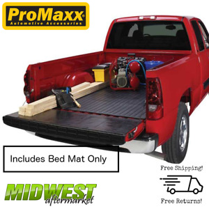 Promaxx Black Rubber Truck Bed Mat Fits 2015 2018 Ford F150 Crew Cab 5 5 Bed