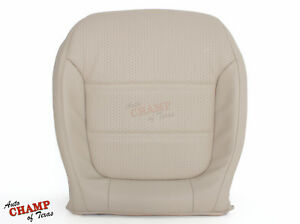 2011 2016 Vw Jetta driver Side Bottom Replacement Leather Seat Cover Tan