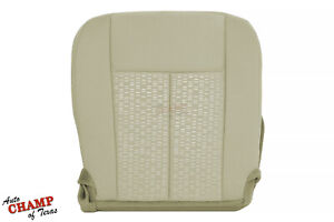 2015 2017 Ford Expedition Xlt Xls Driver Side Bottom Cloth Seat Cover Dune Tan