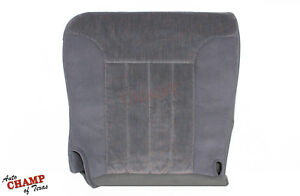 1997 Dodge Ram Slt 4x4 Off Road Sport Driver Side Bottom Cloth Seat Cover Gray