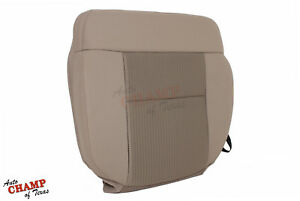 2007 2008 Ford F 150 Xlt Driver Side Bottom Replacement Cloth Seat Cover Tan