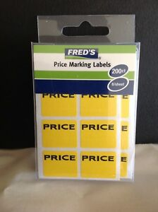 Case Of 28 800 Garage Yard Sale Rummage Stickers Price Labels New Case