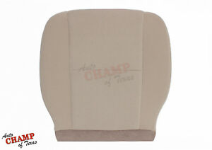 2007 2008 Chevy Suburban Tahoe Ls Lt driver Side Bottom Cloth Seat Cover Tan