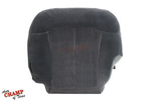2000 2002 Chevy Suburban Ls 4x4 2wd driver Side Bottom Cloth Seat Cover Dk Gray