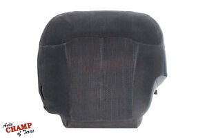 2000 2002 Chevy Tahoe Ls Driver Side Bottom Replacement Cloth Seat Cover Dk Gray