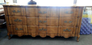 French Provincial Dresser Dovetail Drawers By J L Metz