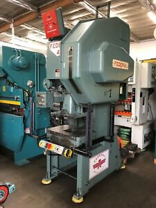 Federal 45 Ton Obi Punch Press Late Model With Light Curtains
