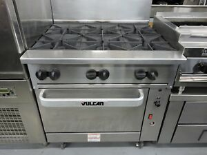Vulcan 36c 6b Endurance 36 Range With 6 Burners And Convection Oven