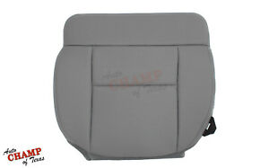 2004 2005 2006 Ford F150 Xl Work Truck Driver Side Bottom Cloth Seat Cover Gray