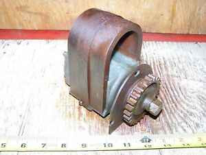 Old John Deere Type E Hit Miss Gas Engine Magneto 1 1 2 3 6hp Steam Oiler Hot