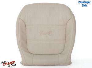 2011 2016 Volkswagen Vw Jetta Passenger Side Bottom Leather Seat Cover Tan