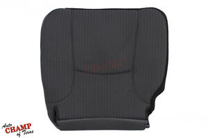 2002 Dodge Ram 1500 Base St Work Truck driver Side Bottom Cloth Seat Cover Gray