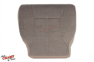 2001 Dodge Ram 1500 2500 3500 Slt driver Bottom Replacement Cloth Seat Cover Tan