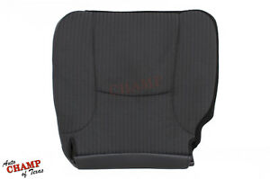2003 2004 2005 Dodge Ram St Work Truck driver Side Bottom Cloth Seat Cover Gray